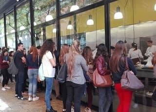 VISITA DELS ALUMNES DE 4RT DE GRAU EN TURISME AL MUSEU DE LA XOCOLATA