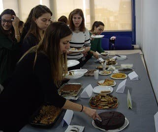 MEDITERRANI GASTRONOMY AND ENOLOGY STUDENTS ORGANIZE A BANQUET