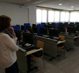 THE STUDENTS OF EU MEDITERRANI CARRY OUT THE EXAMINATIONS OF FRENCH DFP