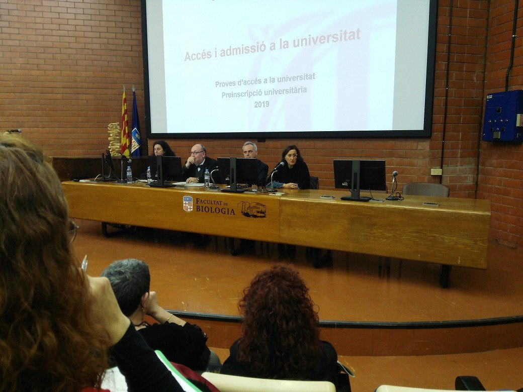 EU Mediterrani present at the conference on access and admission to the university 2019