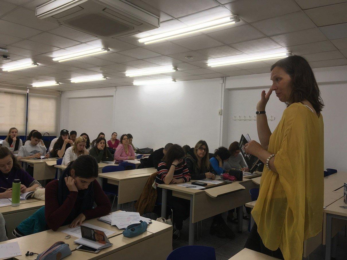 PONÈNCIA DE L'ESCRIPTORA EDITH VOL SUNDHAL-HILLER A EU MEDITERRANI