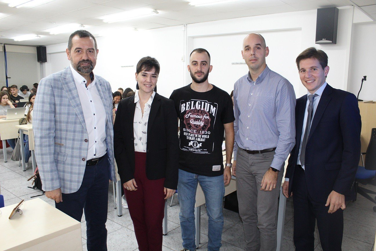ÈXIT DE PARTICIPACIÓ EN LA VII JORNADA UNIVERSITAT-EMPRESA GRAU EN MÀRQUETING
