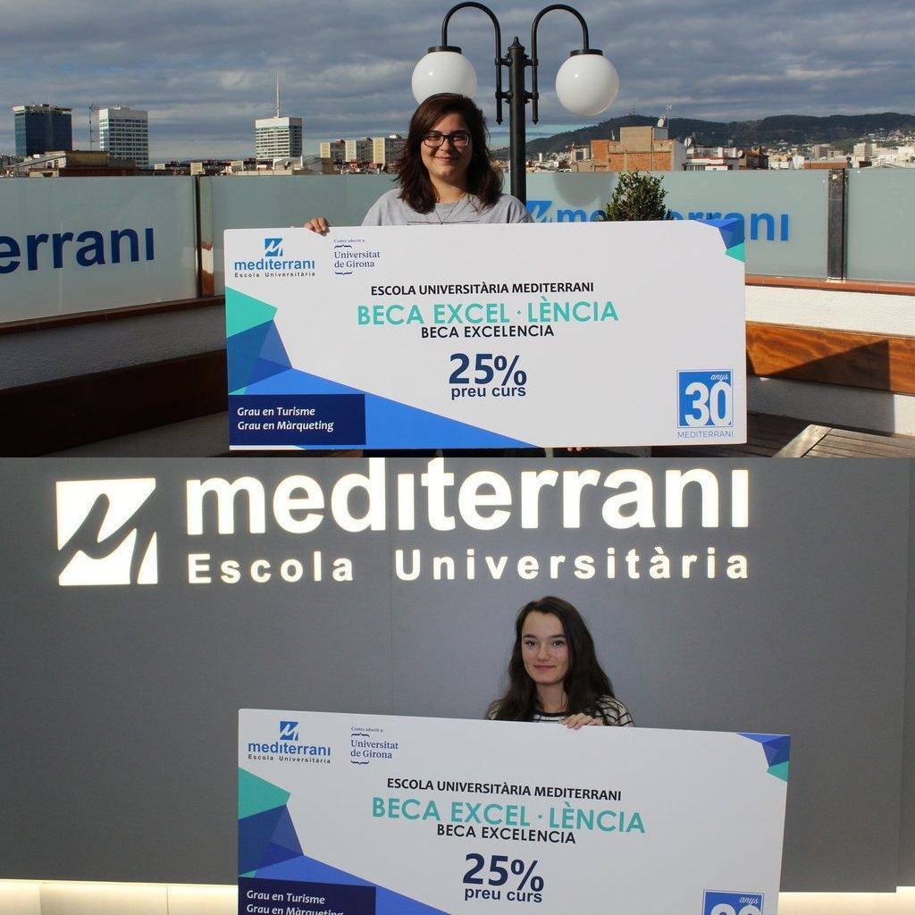 WE PRESENT THE WINNERS OF THE SCHOLARSHIP TO THE ACADEMIC EXCELLENCE 2019 OF EU MEDITERRANI