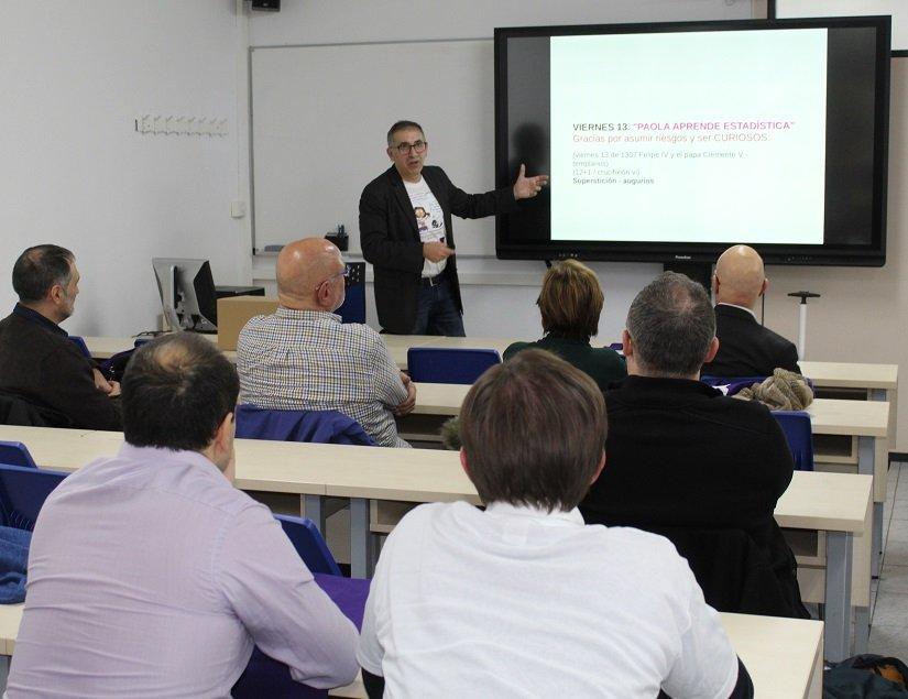 DOCTOR GASPAR BERBEL PRESENTS ITS INNOVATIVE STATISTICS MANUAL IN EU MEDITERRANI