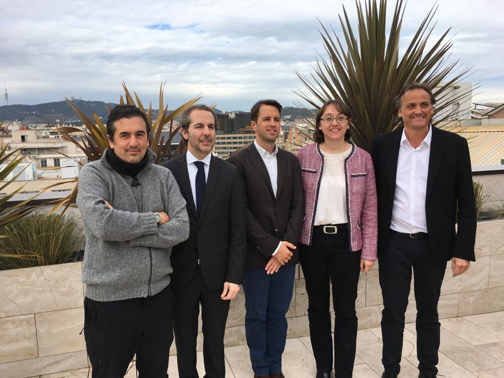 THE PROFESSOR OF EU MEDITERRANI ÓSCAR GUTIÉRREZ ATTENDS THE PRESENTATION OF THE WHITE BOOK OF TRADE AND INDUSTRY OF THE COMPANY'S ANIMAL SECTOR