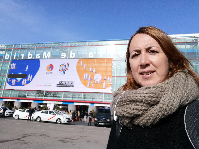 THE EU MEDITERRANI TOURISM DEPARTMENT VISITS THE 2020 FITUR TOURISM FAIR