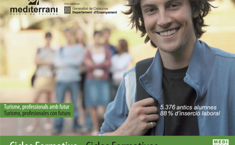 Los Ciclos Formativos de la Escola de Turisme EU Mediterrani se posicionan como referentes de máxima calificación en la formación turística de Barcelona