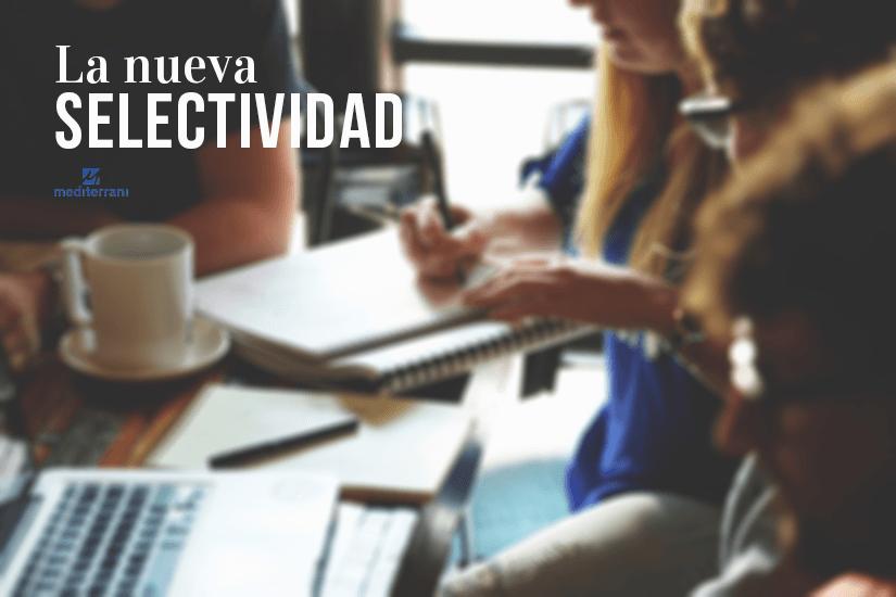 Universidad de turismo: La nueva selectividad será un test.